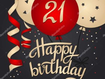 Поздравления с днем рождения парню 21 год своими словами
